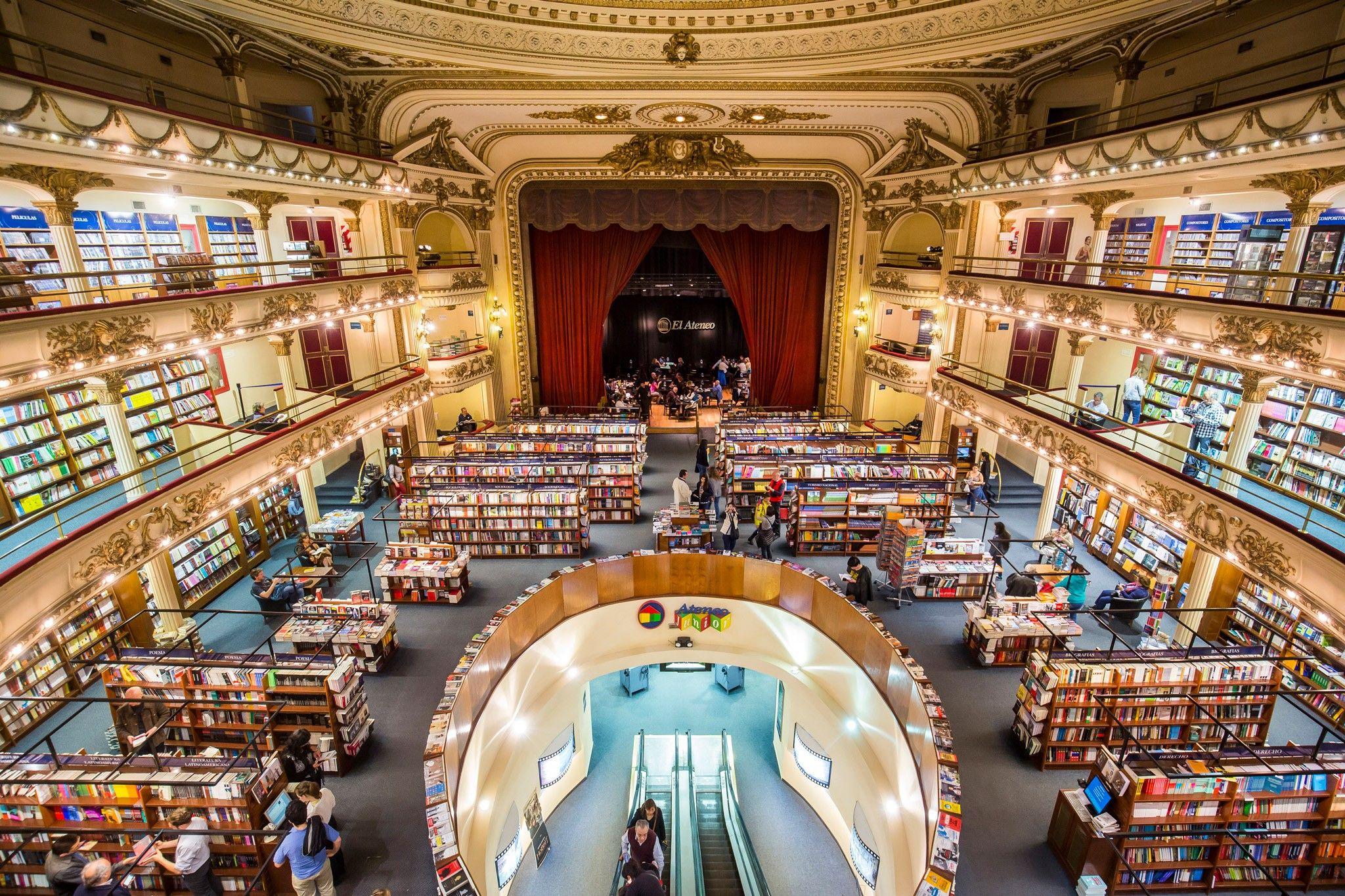 """Das ist """"die schönste Buchhandlung der Welt"""""""