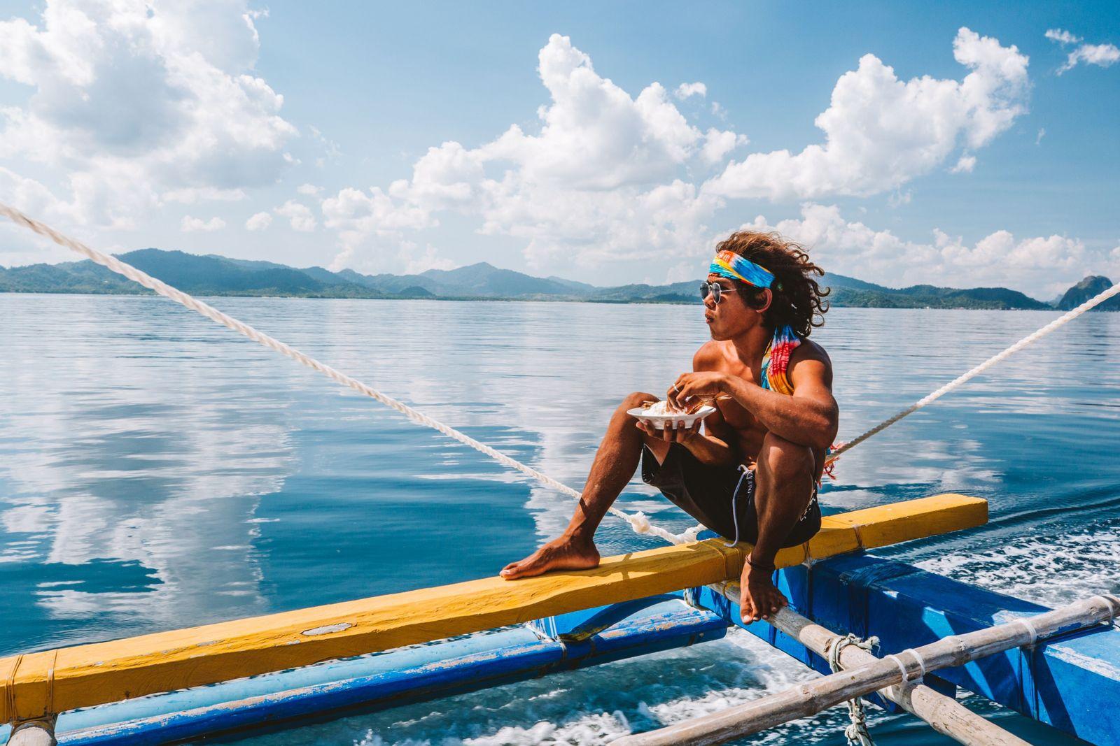 Banka-Boot aufden Philippinen