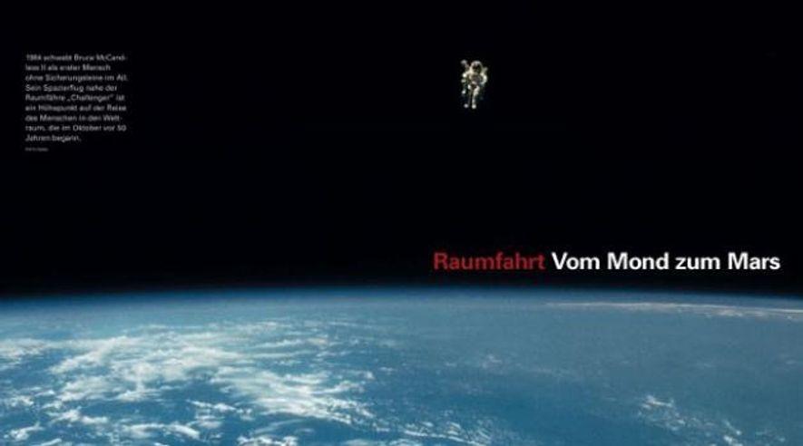 Raumfahrt - Vom Mond zum Mars