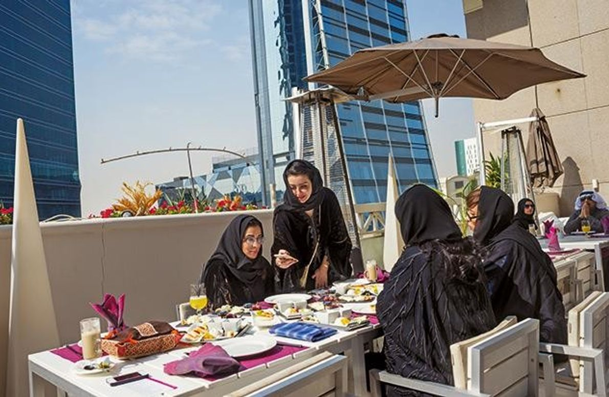 Brunch nach Saudi-Art