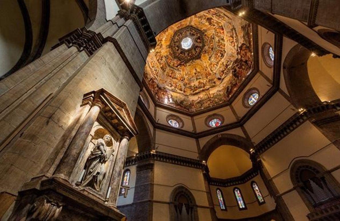 Brunelleschis Kuppel von innen
