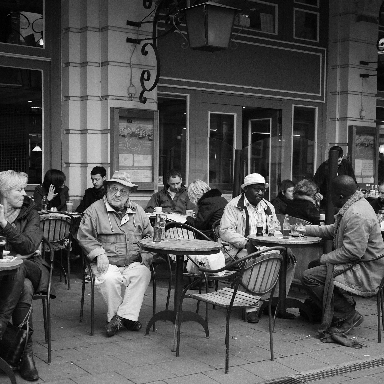 Auf ein Kaffee in Brüssel.