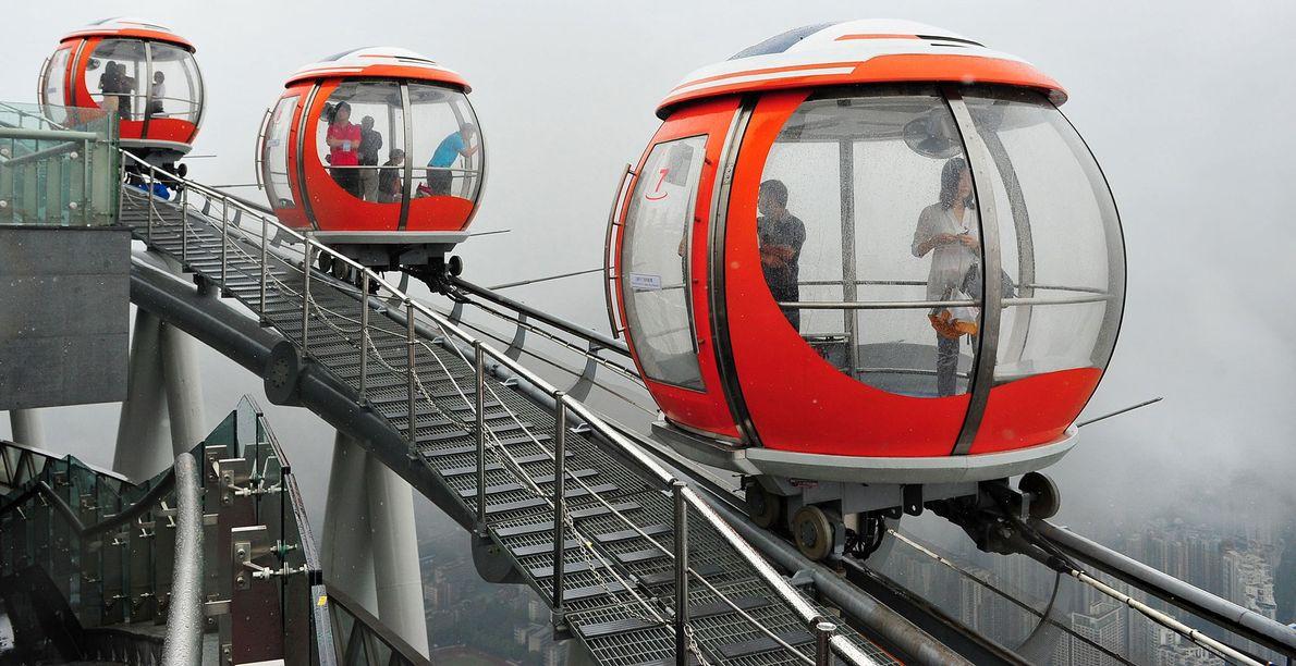 Bubble Tram, Guangzhou, China