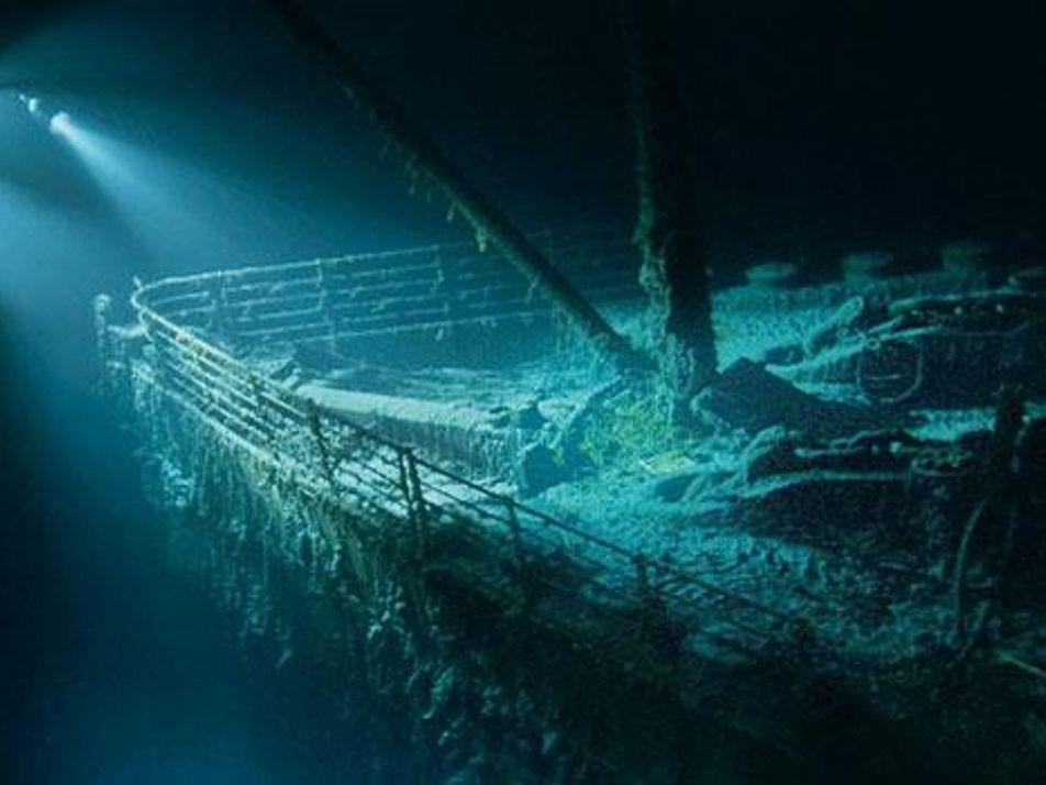 Titanic wurde während Geheimmission des Kalten Krieges entdeckt
