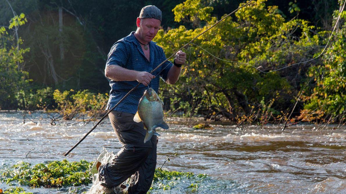 Fischen in Surinam