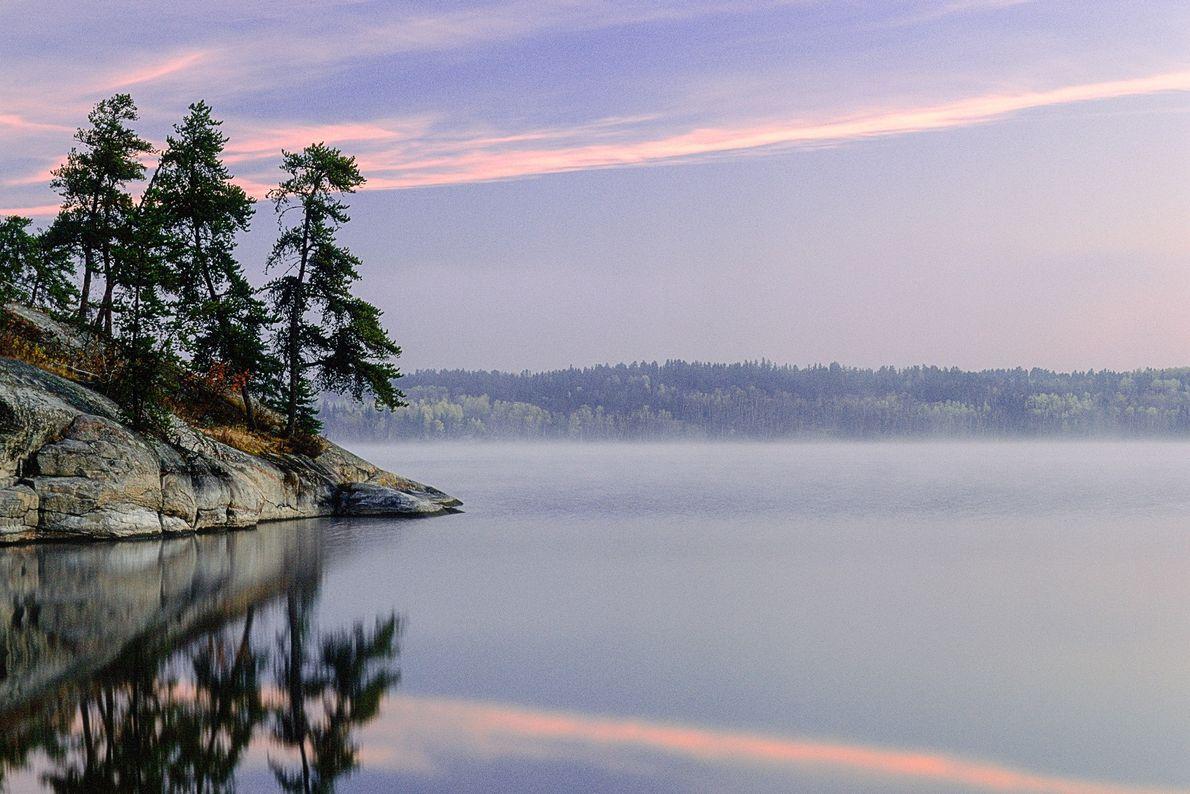 Caddy Lake Sonnenaufgang