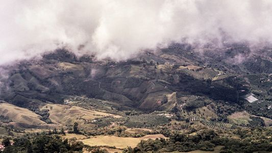 Hoch in den Bergen von Aguadas stellen Farmer hohe Ansprüche an ihren Kaffee