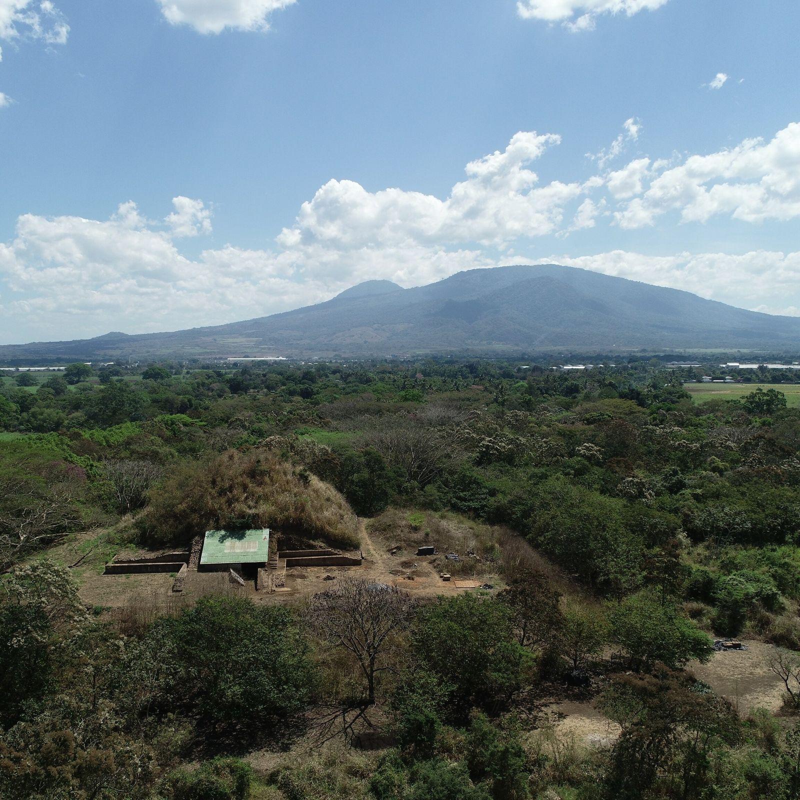 Ausgrabungen an einer Maya-Stätte in El Salvador