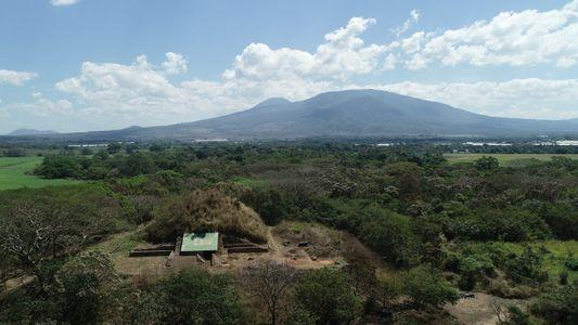 Nach Vulkanausbruch: Maya bauten Pyramide aus Asche