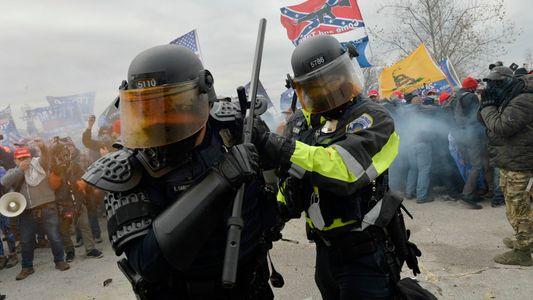 Als der Mob das Kapitol stürmte: Bilder eines Angriffs auf die Demokratie