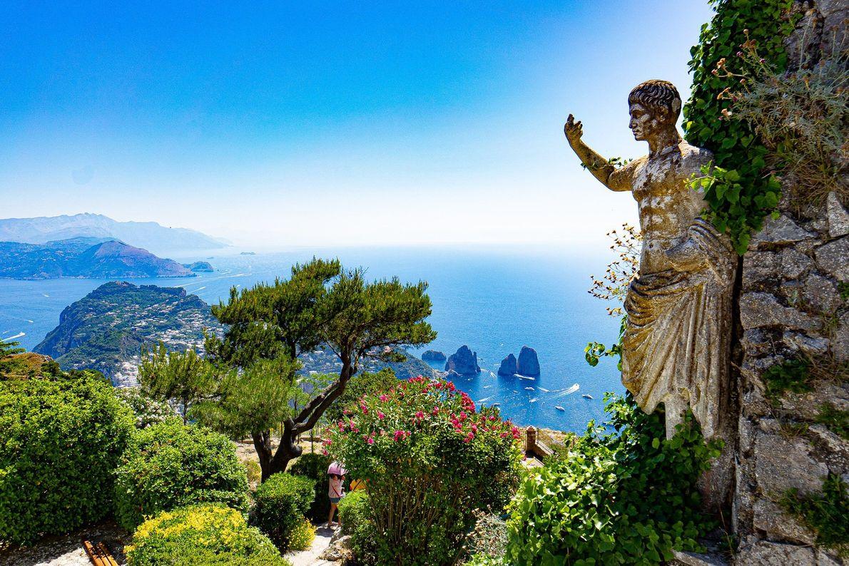 Die italienische Insel Capri ist bei Urlaubern schon seit Langem beliebt. Auf dem Monte Solaro, dem ...