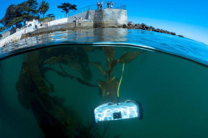 Drohne unter Wasser