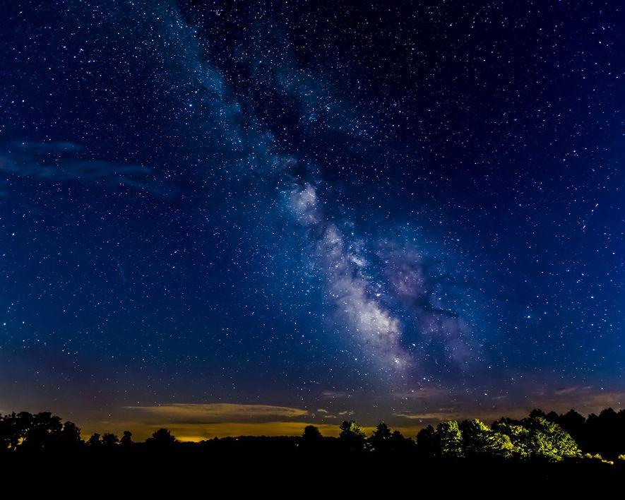 Im Cherry Springs State Park in Pennsylvania werden jedes Jahr familienfreundliche Sternenpartys gefeiert.