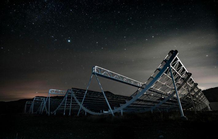 CHIME-Teleskop
