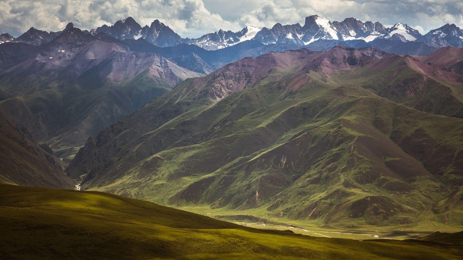 Hochebene von Tibet