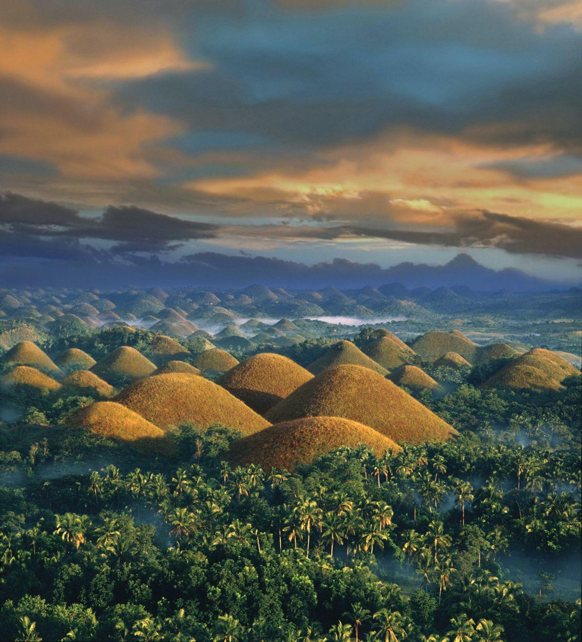 Bohol Island Chocolate Hills, Philippines