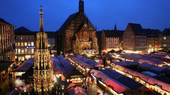 Der Nürnberger Christkindlesmarkt blickt auf eine mehr als 400-jährige Geschichte zurück.