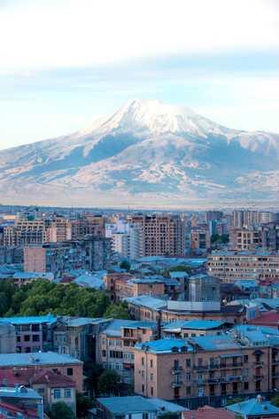 Bild des Berges Ararat, Jerewan, Armenien