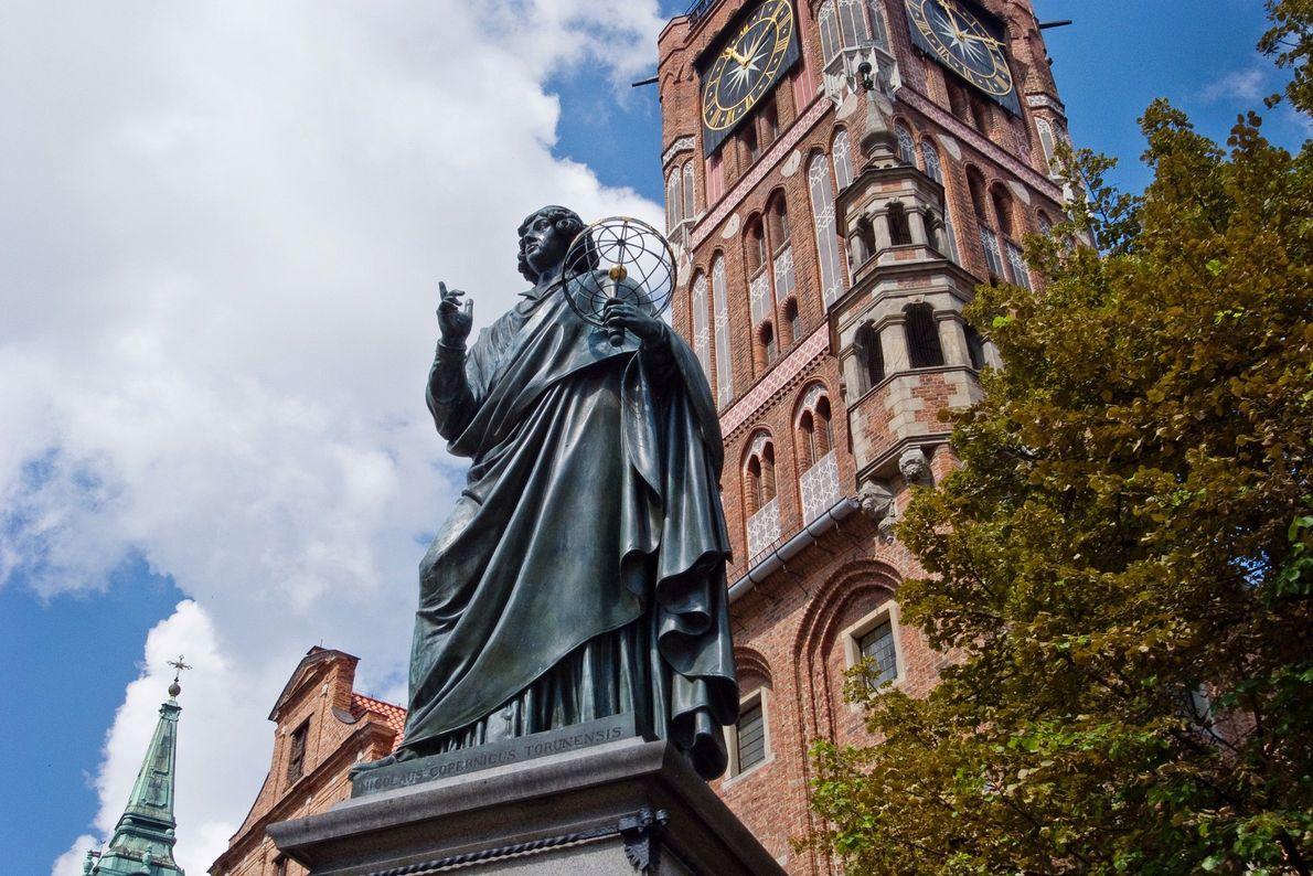 Denkmal des Astronomen Nikolaus Kopernikus