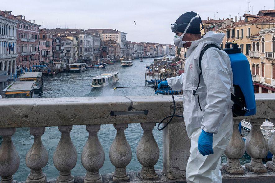 Geisterstadt Venedig: Quarantäne wie zu Zeiten der Pest