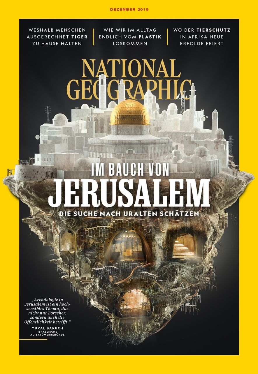Cover Dezember National Geographic-Magazin