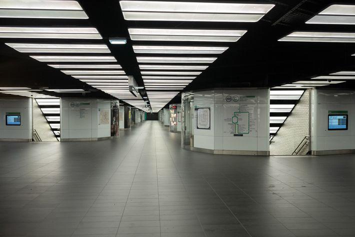 U-Bahn in Paris