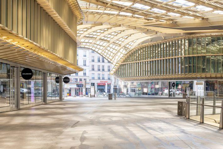 Forum des Halles im Zentrum von Paris