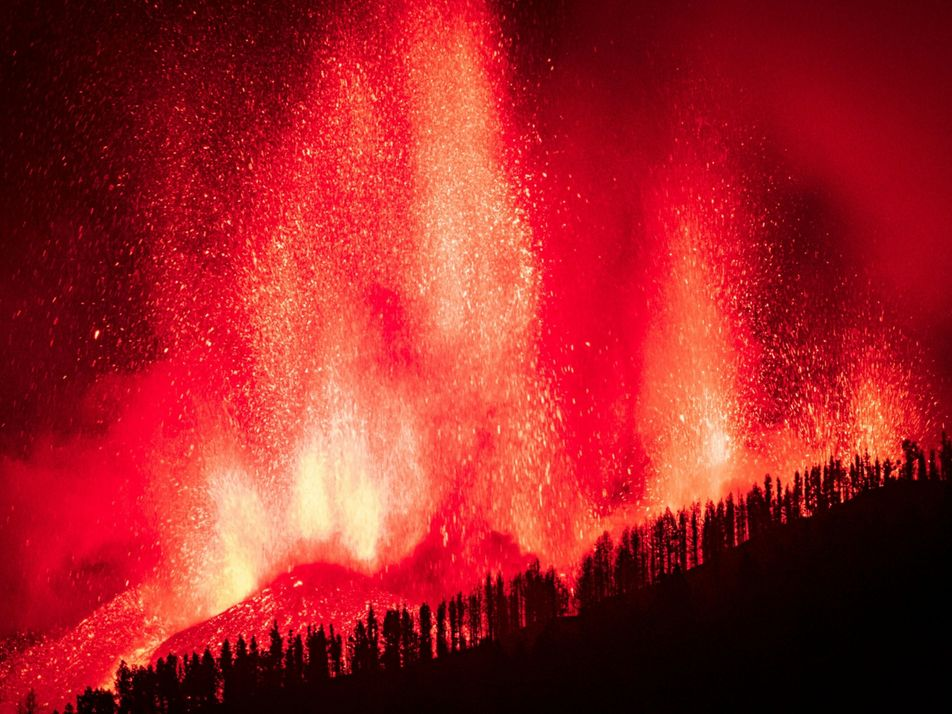 Vulkanausbruch auf La Palma: Erste Eruption seit 50 Jahren