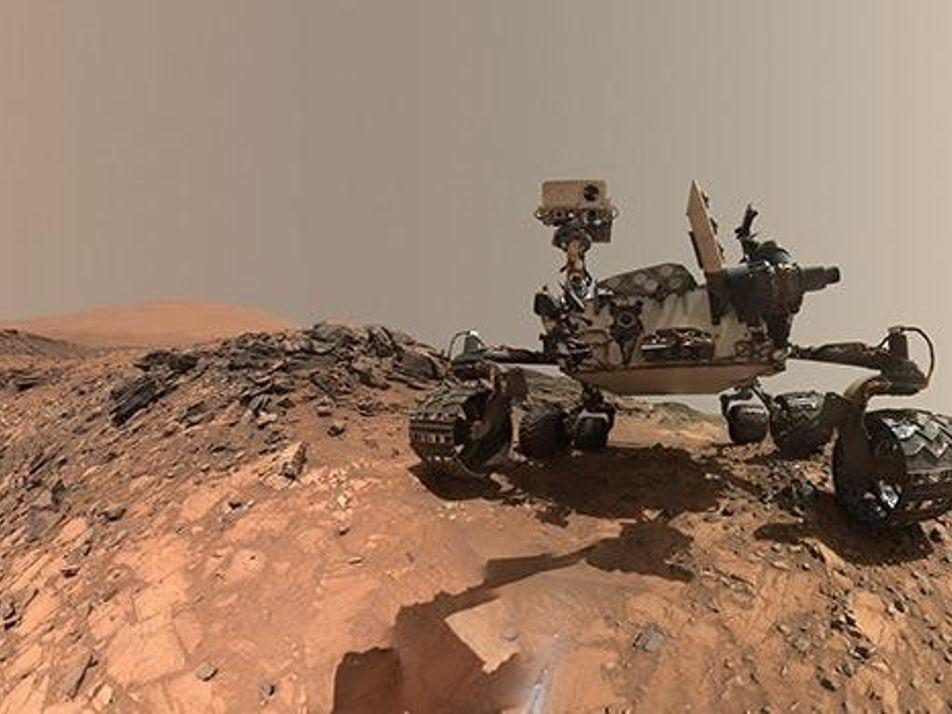 Ein Jahr auf dem Mars