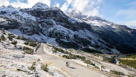 Mit dem Fahrrad durch die Alpen