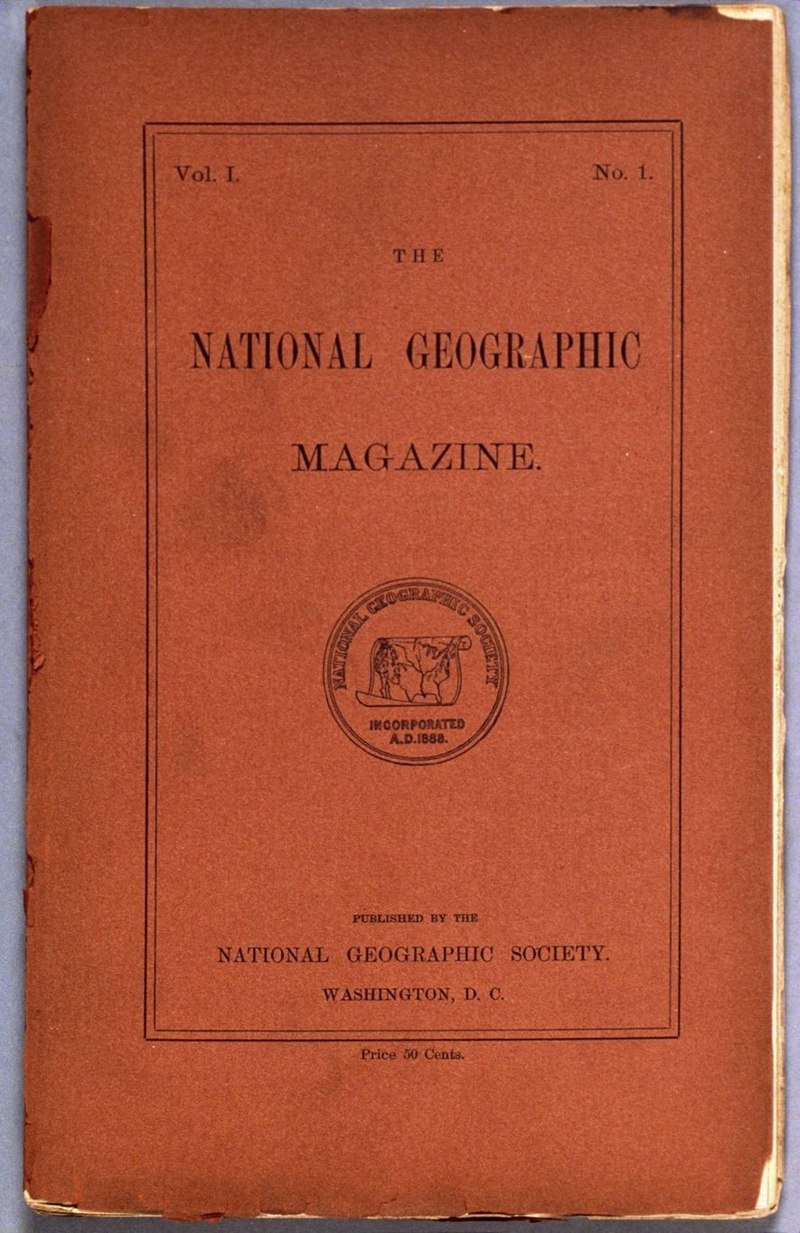 national geographic 1888 cover
