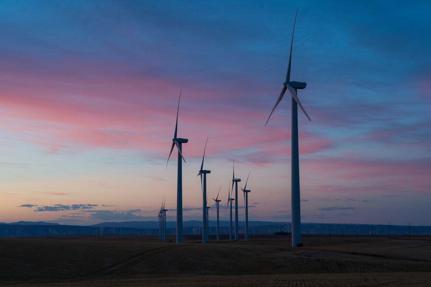 Windräder Erneuerbare Energie