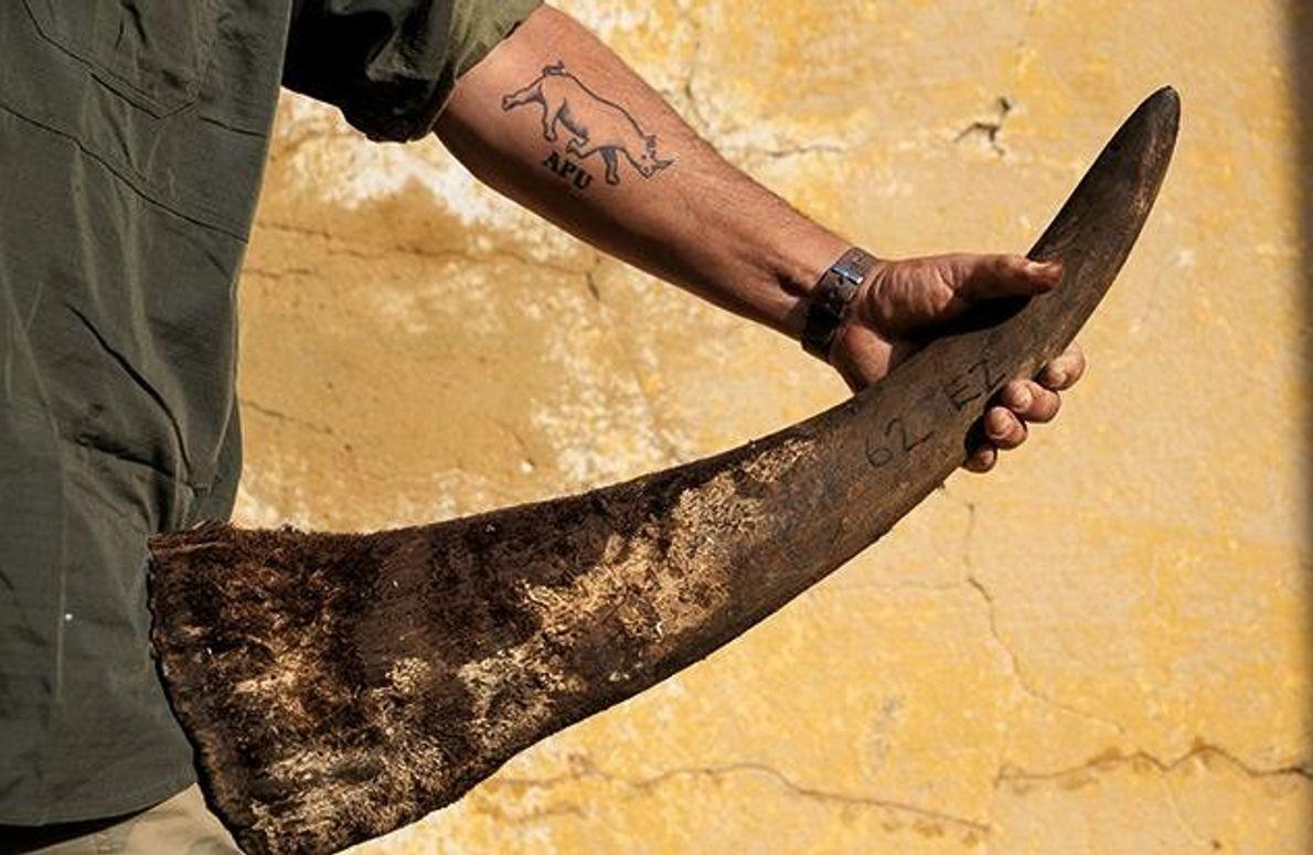 Das APU-Tattoo ist ihr Symbol