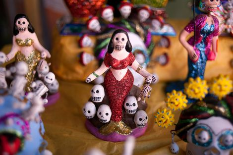 Während der Feiertage, aber auch den Rest des Jahres über werden in Mexiko zahlreiche Versionen von ...