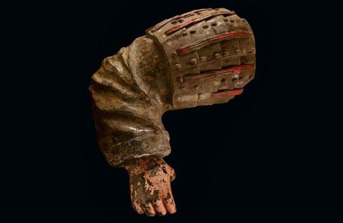 Der Arm eines Fußsoldaten