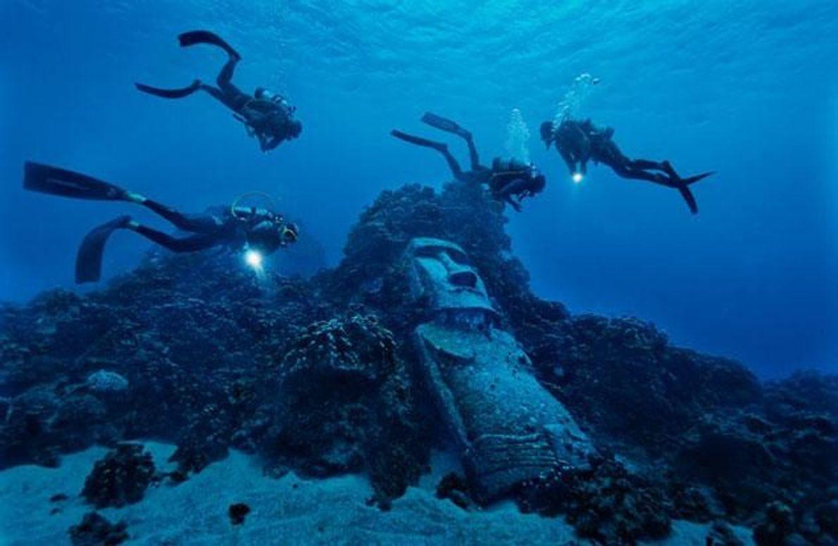 Der falsche moai
