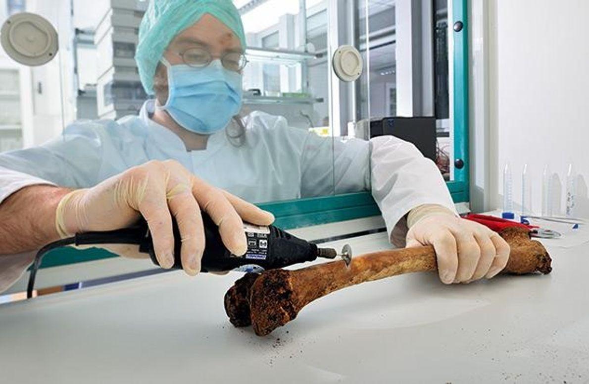Der Forensiker bei der Arbeit