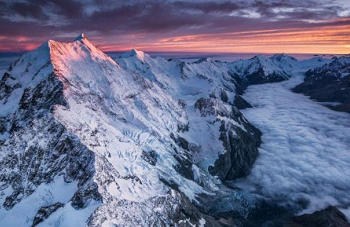 Der höchste Berg des Landes