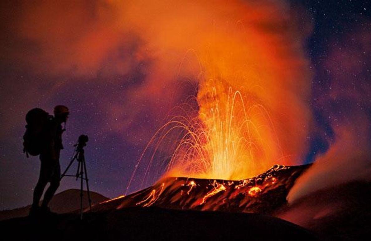 Der Vulkan Tavurvur