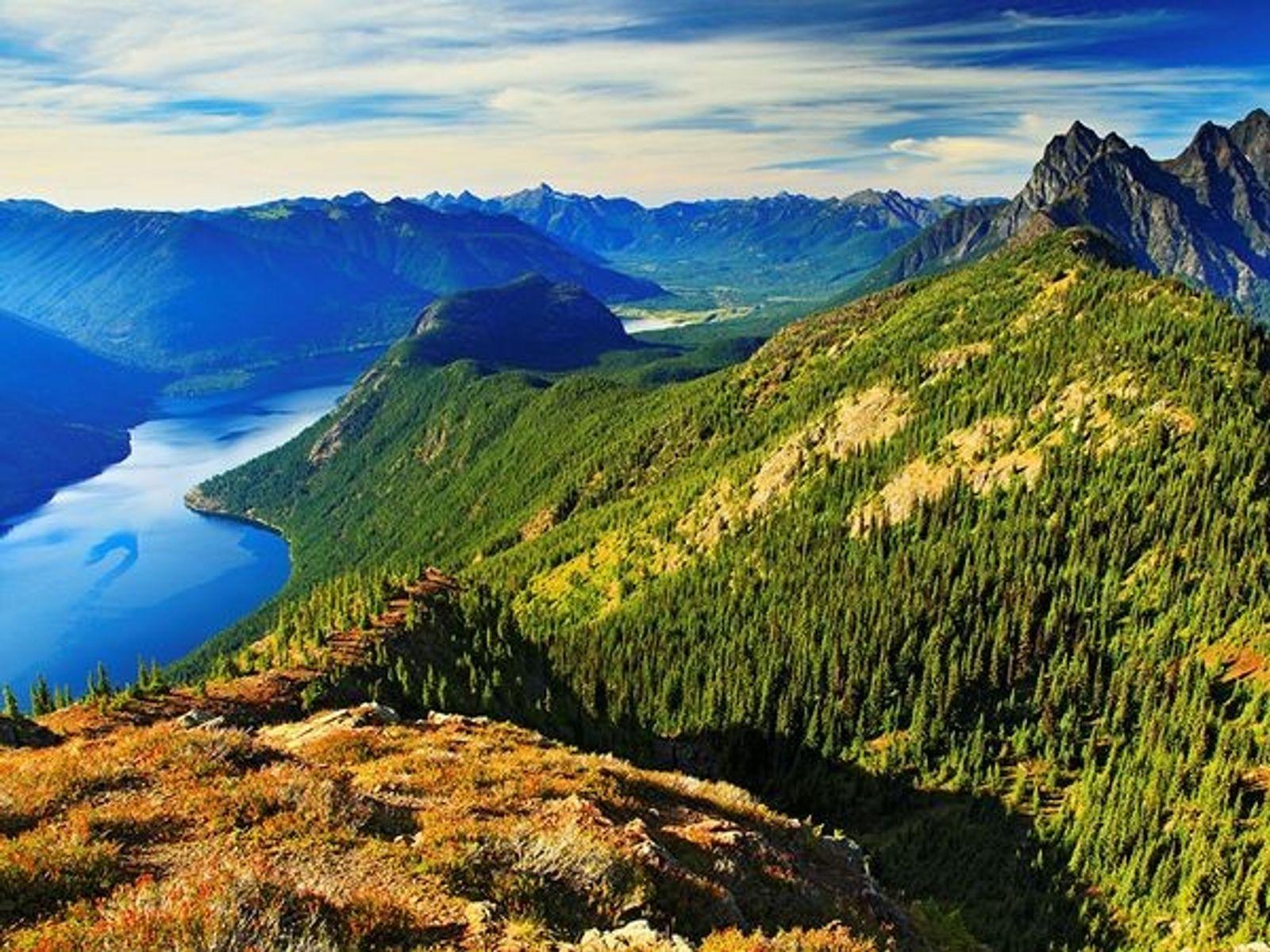 Desolation Peak, Washington, USA