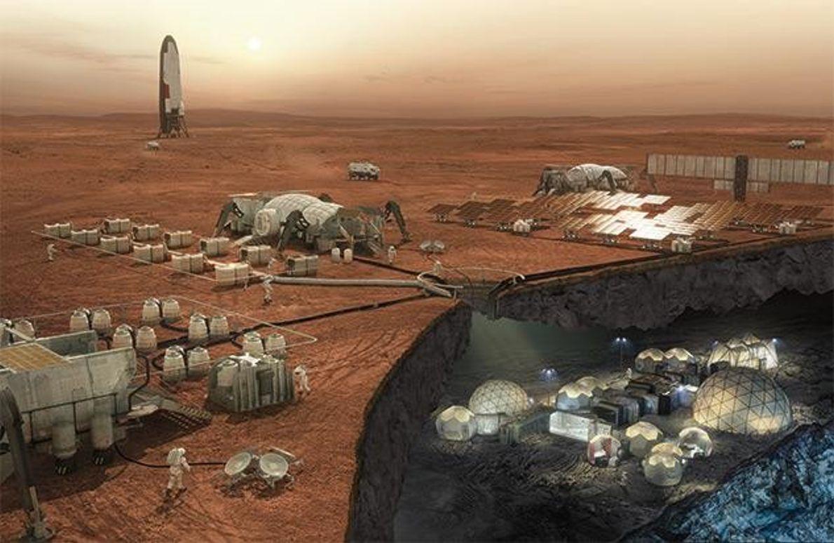Die Mars-Kolonie