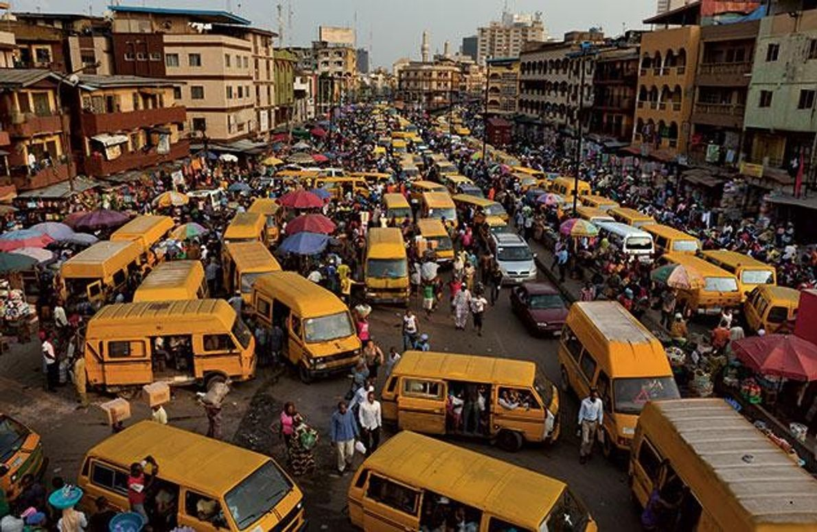 Die Pendler von Lagos