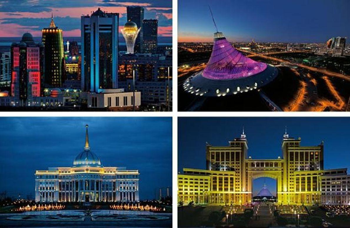 Die Skyline von Astana