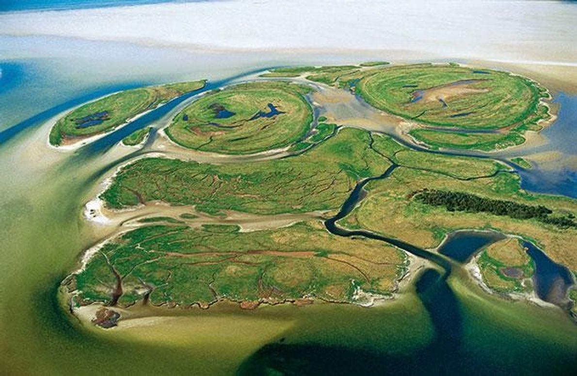Die Werder-Inseln