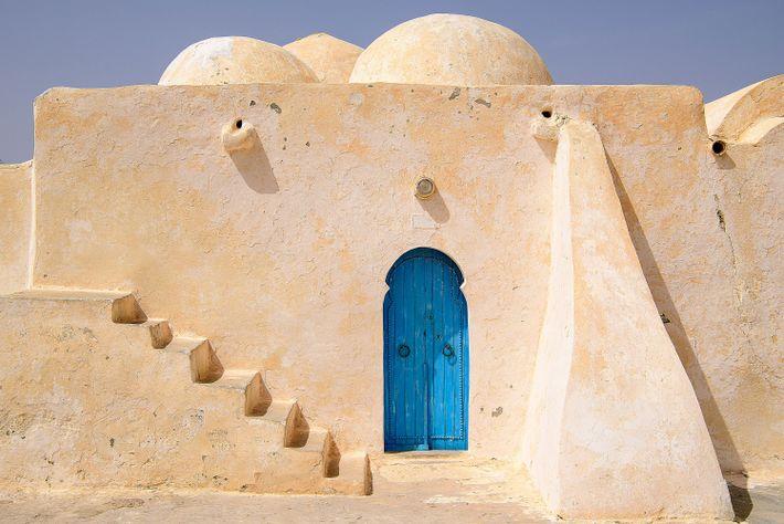 Die Moschee von Satori auf Djerba erinnert einige Fans sicher an ein Haus auf dem Planeten ...