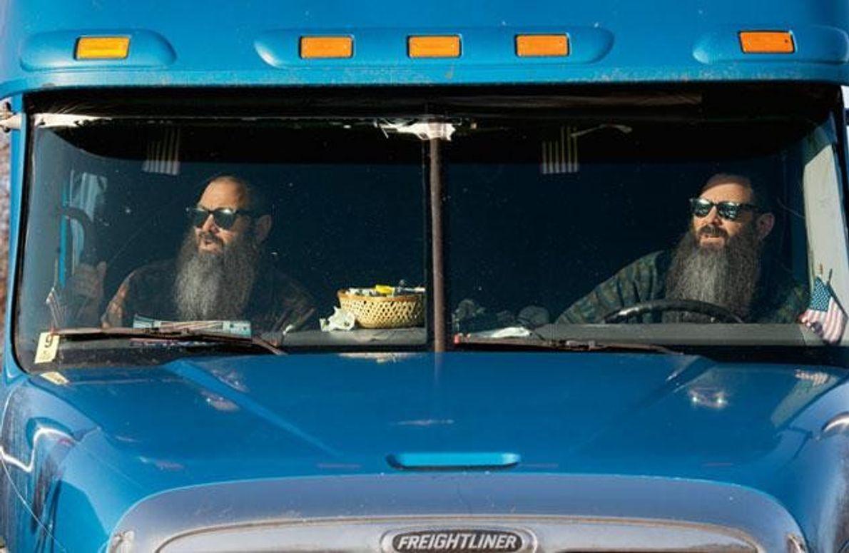 «Wir ticken gleich», glaubt Don Wolf (rechts) von sich und seinem Zwilling Dave. Seit 18 Jahren …