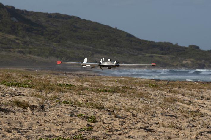 Drohne Messung Barbados