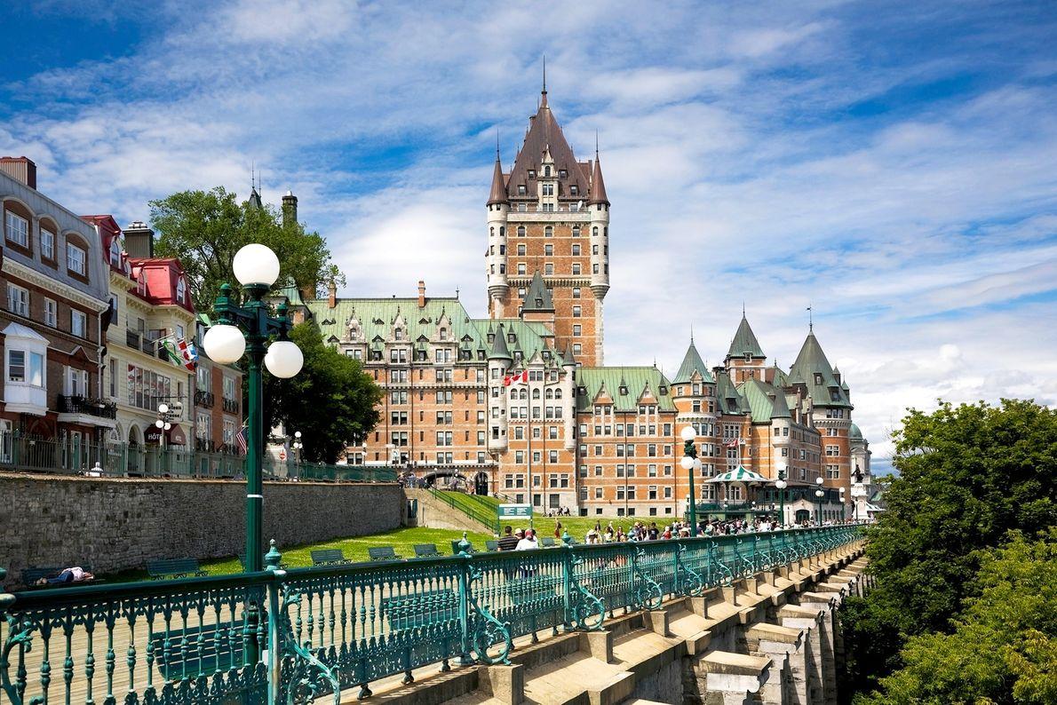 Dufferin Terrace in Québec
