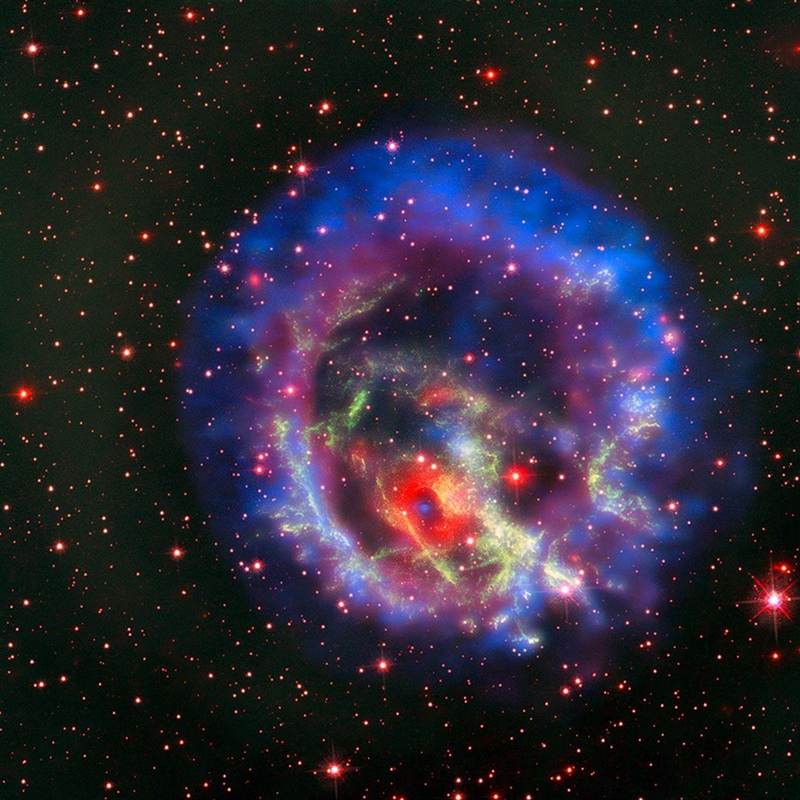 Kosmischer Knall: Sieht so die Geburt eines Schwarzen Lochs aus?