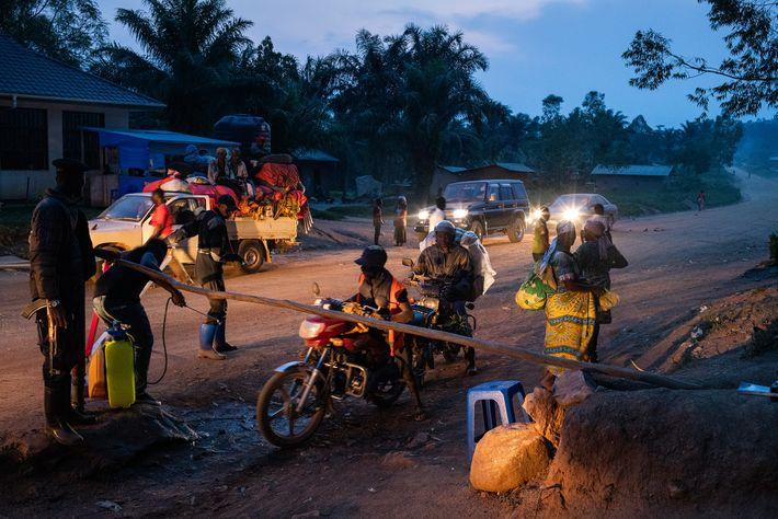 Quarantänemaßnahmen Ebola